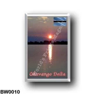 BW0010 Africa - Botswana - Okavango Delta Sunset