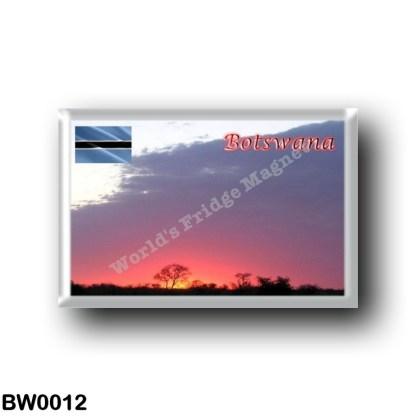 BW0012 Africa - Botswana - Sunrise