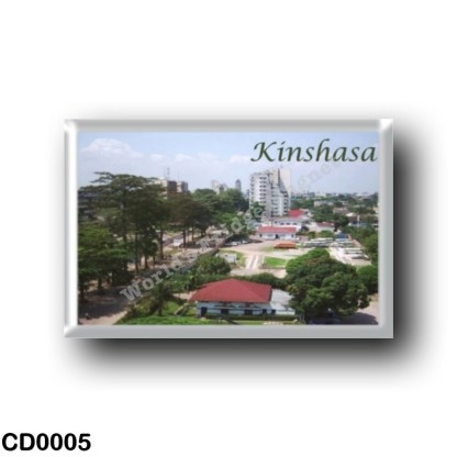 CD0005 Africa - Democratic Republic of the Congo - Kinshasa