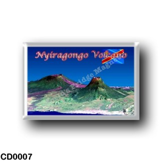 CD0007 Africa - Democratic Republic of the Congo - Nyiragongo Volcano