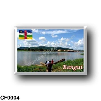 CF0004 Africa - Central African Republic - Bangui - Ubangi River