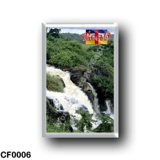 CF0006 Africa - Central African Republic - Boali - Chutes