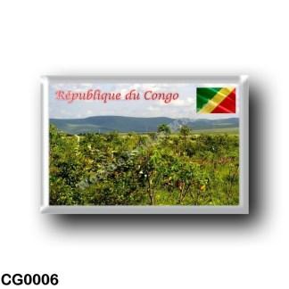 CG0006 Africa - Republic of the Congo - Paysage de Nsele