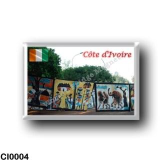 CI0004 Africa - Ivory Coast - Batik yakro