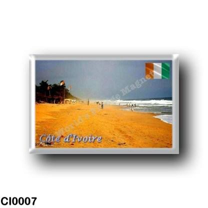 CI0007 Africa - Ivory Coast - Plage