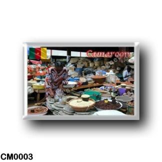 CM0003 Africa - Cameroon - Mfoundi market