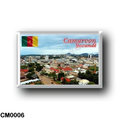 CM0006 Africa - Cameroon - View of Yaoundé