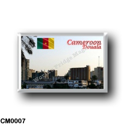 CM0007 Africa - Cameroon - Douala the economic capital of Cameroon