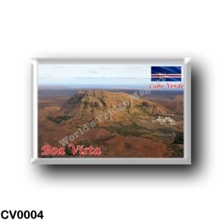 CV0004 Africa - Cape Verde - Boa Vista - Rocha Estáncia