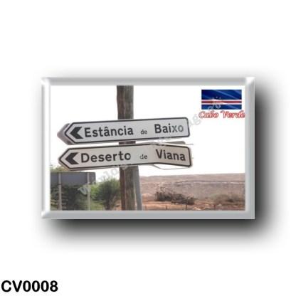 CV0008 Africa - Cape Verde - Estância de Baixo