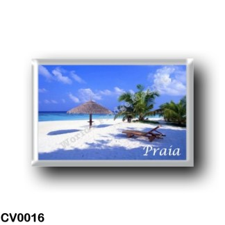 CV0016 Africa - Cape Verde - Praia - Panorama A