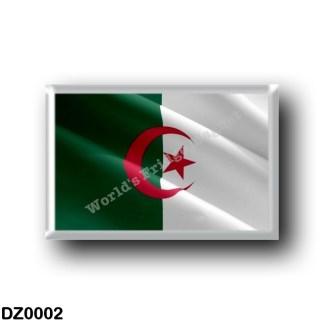 DZ0002 Africa - Algeria - Flag Waving
