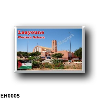 EH0005 Africa - Western Sahara - Laayoune - Cathedral of Saint Francis of Assisi