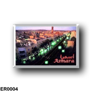 ER0004 Africa - Eritrea - Asmara Night