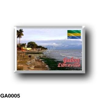GA0005 Africa - Gabon - Libreville - Panorama