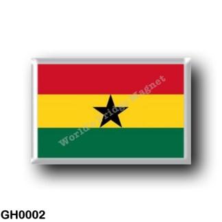 GH0002 Africa - Ghana - Ghanaian Flag