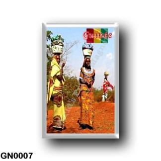 GN0007 Africa - Guinea - Femme Fule