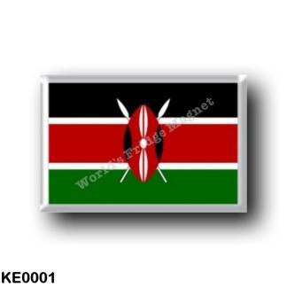 KE0001 Africa - Kenya - Keniota Flag