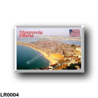 LR0004 Africa - Liberia - Monrovia - Panorama