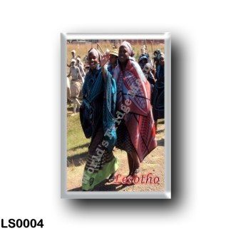 LS0004 Africa - Lesotho - Basotho women