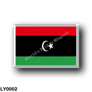 LY0002 Africa - Libya - Flag