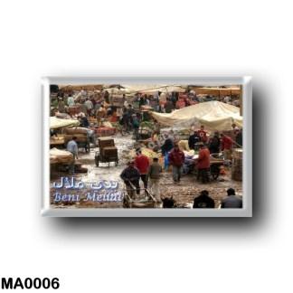 MA0006 Africa - Marocco - Beni Mellal - Mercato