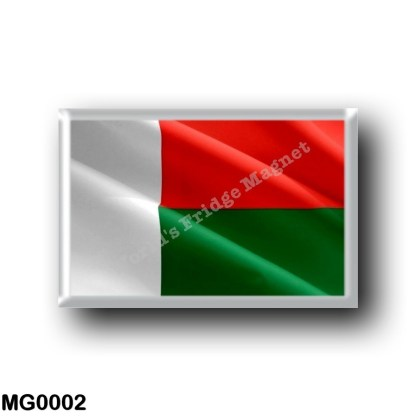 MG0002 Africa - Madagascar - Flag Waving