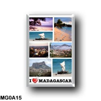 MG0A15 Africa - Madagascar - I Love
