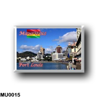 MU0015 Africa - Mauritius - Port Louis - Panorama