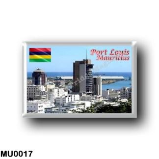 MU0017 Africa - Mauritius - Port Louis - Panorama