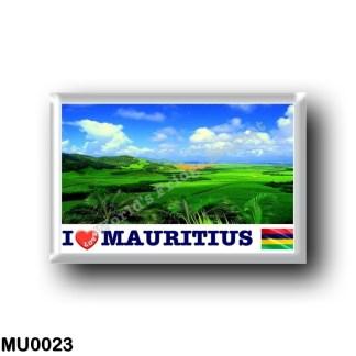 MU0023 Africa - Mauritius - I Love