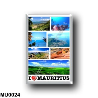 MU0024 Africa - Mauritius - I Love