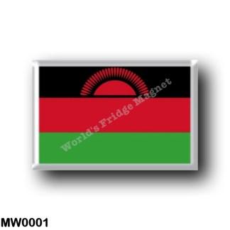 MW0001 Africa - Malawi - Flag