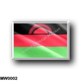 MW0002 Africa - Malawi - Flag Waving