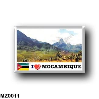 MZ0011 Africa - Mozambique - Zambézia - Monte Murresse - I Love