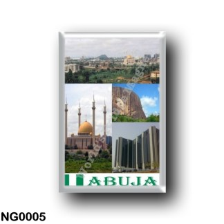 NG0005 Africa - Nigeria - Abuja I Love