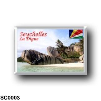 SC0003 Africa - Seychelles - La Digue - Anse Source d'Argent