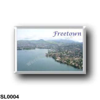 SL0004 Africa - Sierra Leone - Freetown Aerialview