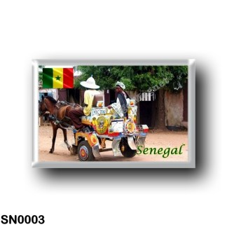 SN0003 Africa - Senegal - Calèche Taxi