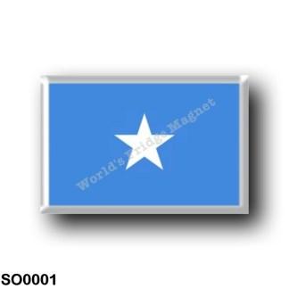 SO0001 Africa - Somalia - Flag