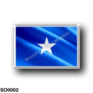 SO0002 Africa - Somalia - Flag Waving