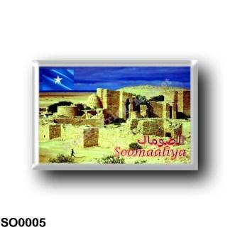 SO0005 Africa - Somalia - Taleh Castle