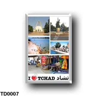 TD0007 Africa - Chad - I Love