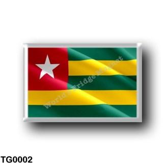TG0002 Africa - Togo - Flag Waving