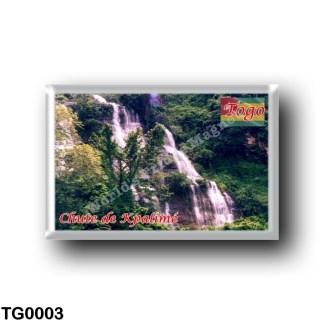 TG0003 Africa - Togo - Chute de Kpalimé