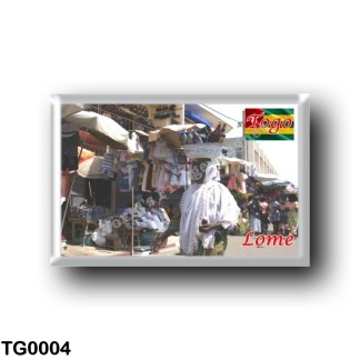 TG0004 Africa - Togo - Lomé - Grand marché