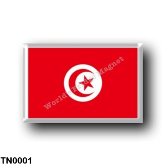 TN0001 Africa - Tunisia - Flag