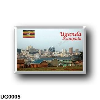 UG0005 Africa - Uganda - Kampala - Skyline