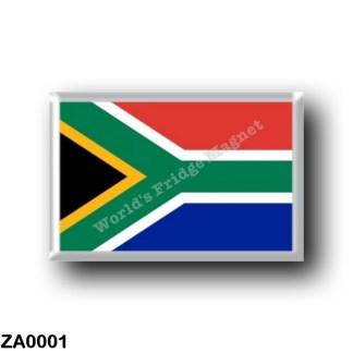 ZA0001 Africa - South Africa - Flag