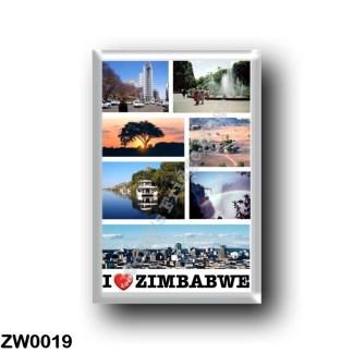 ZW0019 Africa - Zimbabwe - I Love